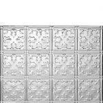 Mini Fleur de Lis - Aluminum Backsplash Tile - #0605
