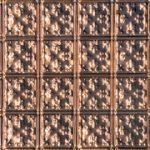 Mini Fluer de Lis - Copper Ceiling Tile - #0605