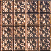 Mini Fluer de Lis - Copper Ceiling Tile - #0605