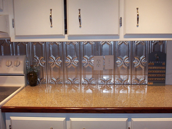 Peppy Pom Pons – Aluminum Backsplash Tile – #0618
