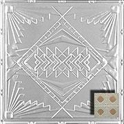 "Prairie House - Aluminum Ceiling Tile - 24""x24"" - #2488"