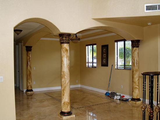 Roman Corinthian – FAD Faux Marble Finish Column – #CPF-002-RC