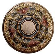 Shady Impression - FAD Hand Painted Ceiling Medallion - #CCMF-035-2