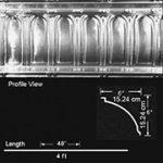 Stately Arches - Aluminum Cornice - Nail up - #EC0601