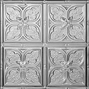 """Tom's Flower - Aluminum Ceiling Tile - 24""""x24"""" - #1217"""