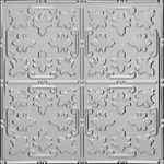 "Venetian Holiday - Aluminum Ceiling Tile - 24""x24"" - #1206"