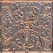"""Wine Country - Copper Ceiling Tile - 24""""x24"""" - #2485"""