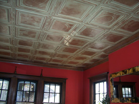 Union Square – Aluminum Ceiling Tile – 24″x24″ – #2429