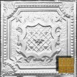 """Elizabethan Shield - Aluminum Ceiling Tile - 24""""x24"""" - #2421"""