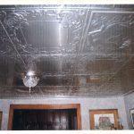 "Guardian Cherub - Aluminum Ceiling Tile - 24""x24"" - #2442"