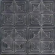"""Jitterbug - Faux Tin Ceiling Tile - 24""""x24"""" - #115"""