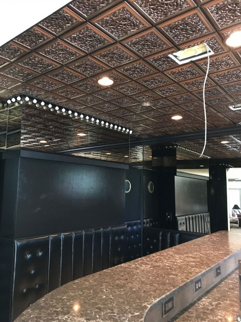 Restaurant kitchen ceiling tiles