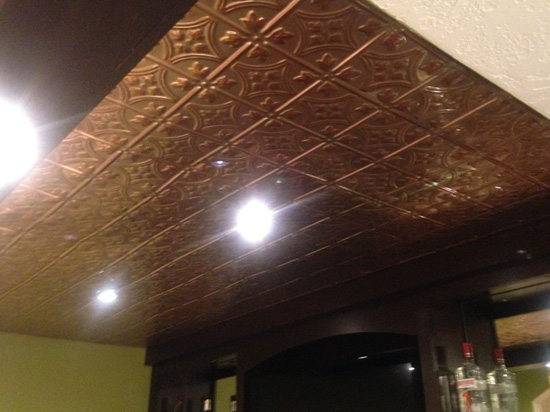 Princess Victoria – Aluminum Ceiling Tile – #0604