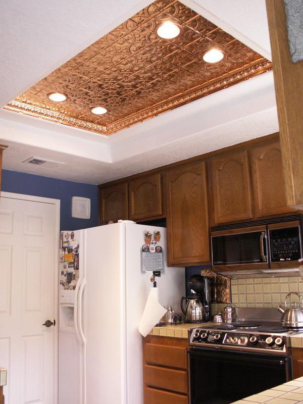 Princess Victoria U2013 Copper Ceiling Tile U2013 #0604