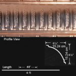 Stately Pillars - Copper Cornice - Nail up - #EC0600