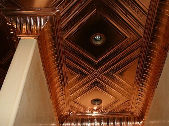 Stately Pillars – Copper Cornice – Nail up – #EC0600