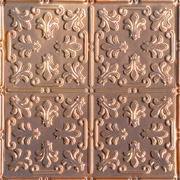 "Venetian Holiday - Copper Ceiling Tile - 24""x24"" - #1206"