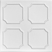"Bostonian - Styrofoam Ceiling Tile - 20""x20"" - #R01"