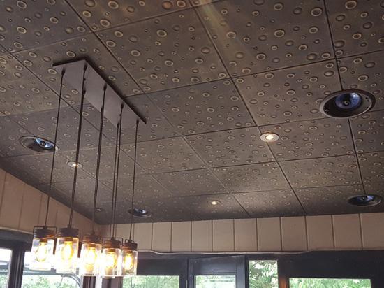 Bubbles – Styrofoam Ceiling Tile – 20″x20″ – #R07