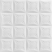 """Forest Fantasy - Styrofoam Ceiling Tile - 20""""x20"""" - #R140"""