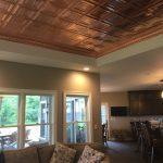 Madison Square - Copper Ceiling Tile - #1201