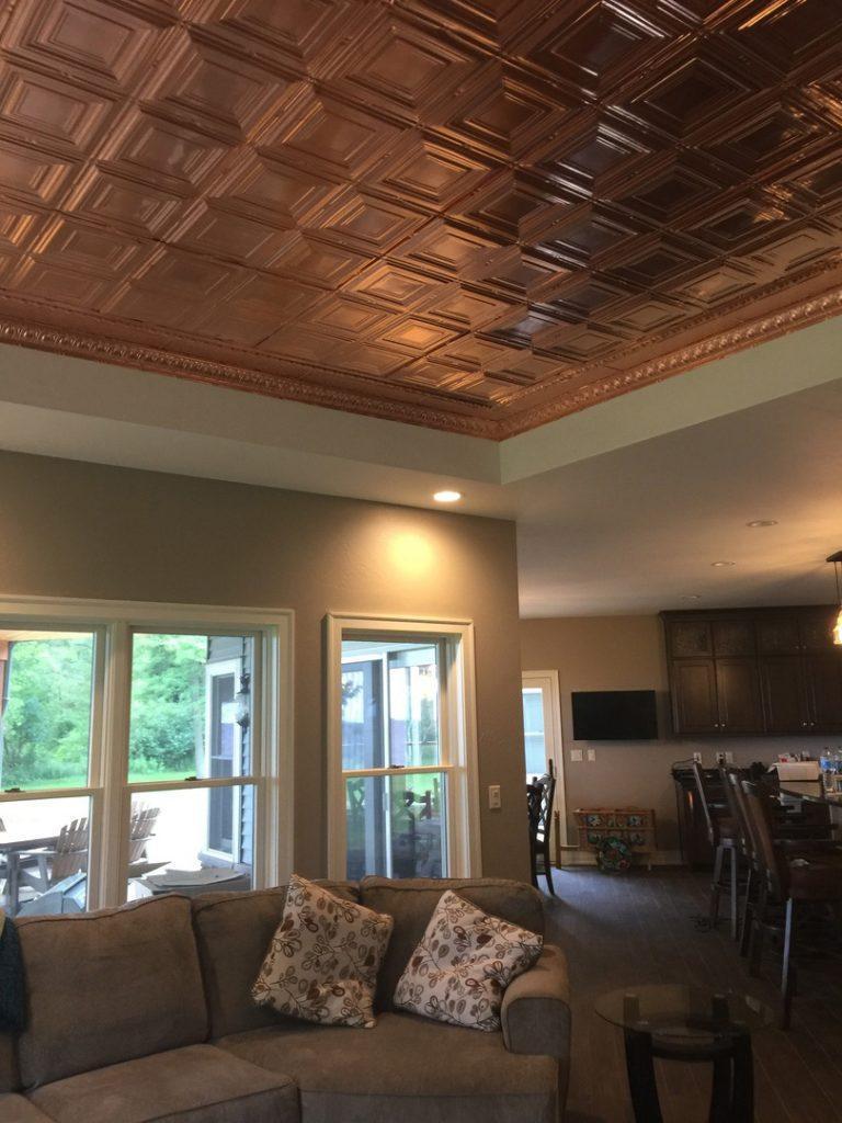 Solid copper ceiling tiles ideas photos decorativeceilingtiles previous next dailygadgetfo Images