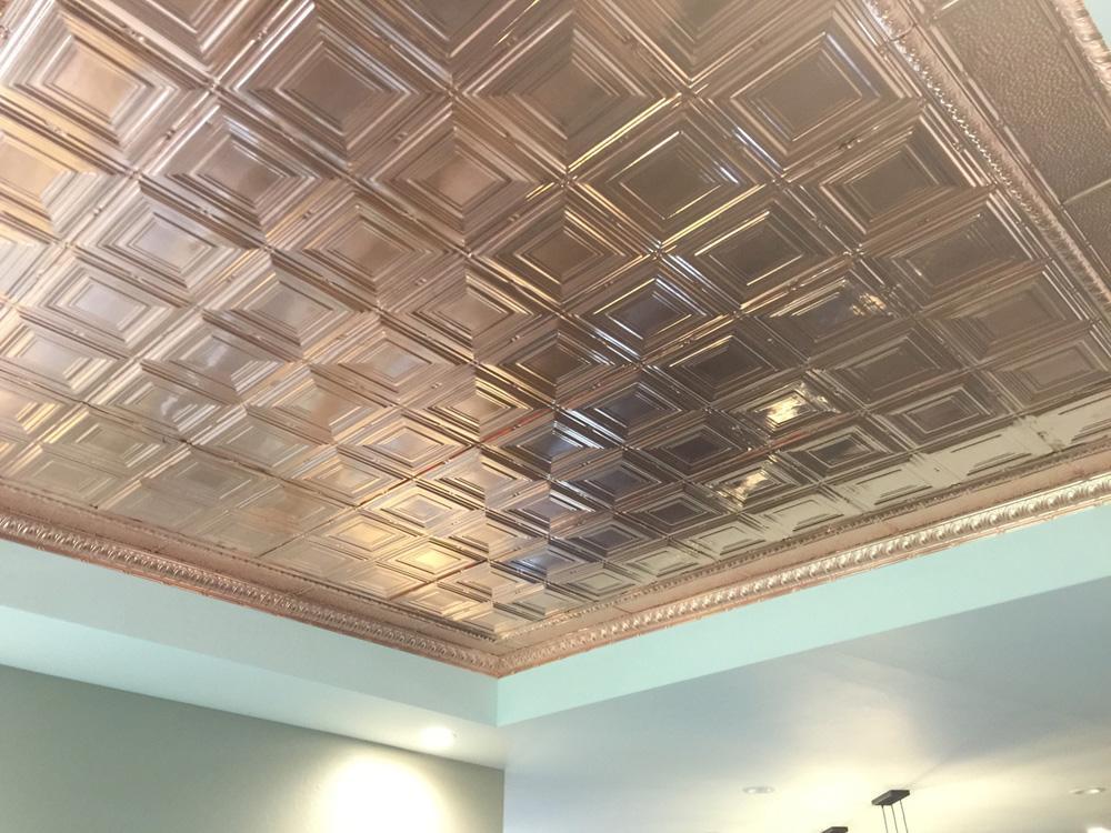 Copper Ceiling Tiles Ideas Photos Decorativeceilingtiles