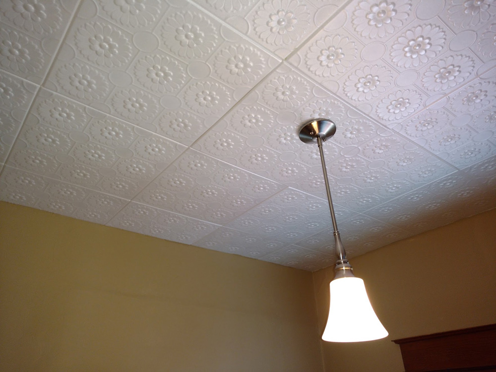 Sunflowers Styrofoam Ceiling Tile 20x20 R136 Dct Gallery