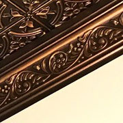 Faux Tin Cornice - CM04 Antique Gold