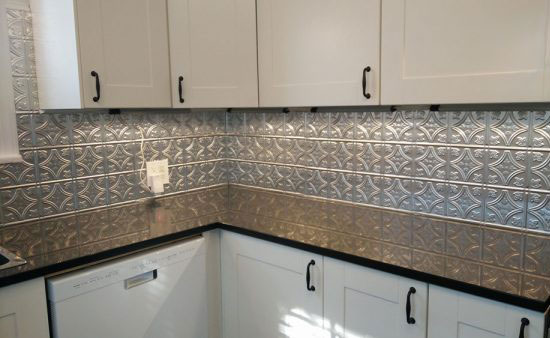 Princess Victoria – Aluminum Backsplash Tile – #0604 - Mill Finish