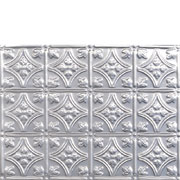 PRINCESS VICTORIA - ALUMINUM BACKSPLASH TILE - #0604 Mill Finish 180 Tile