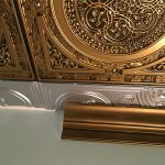 "DIY Foam Crown Molding - 5.5"" Wide 95.5"" Long - #CC 551 - Antique Gold"