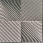 Revolution - MirroFlex - Ceiling Tiles Pack - Brushed Nickel