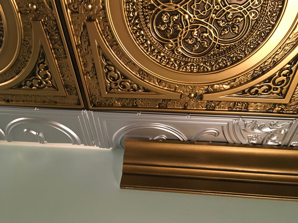 Awesome Tray Ceiling Molding With Crown Molding Coffered