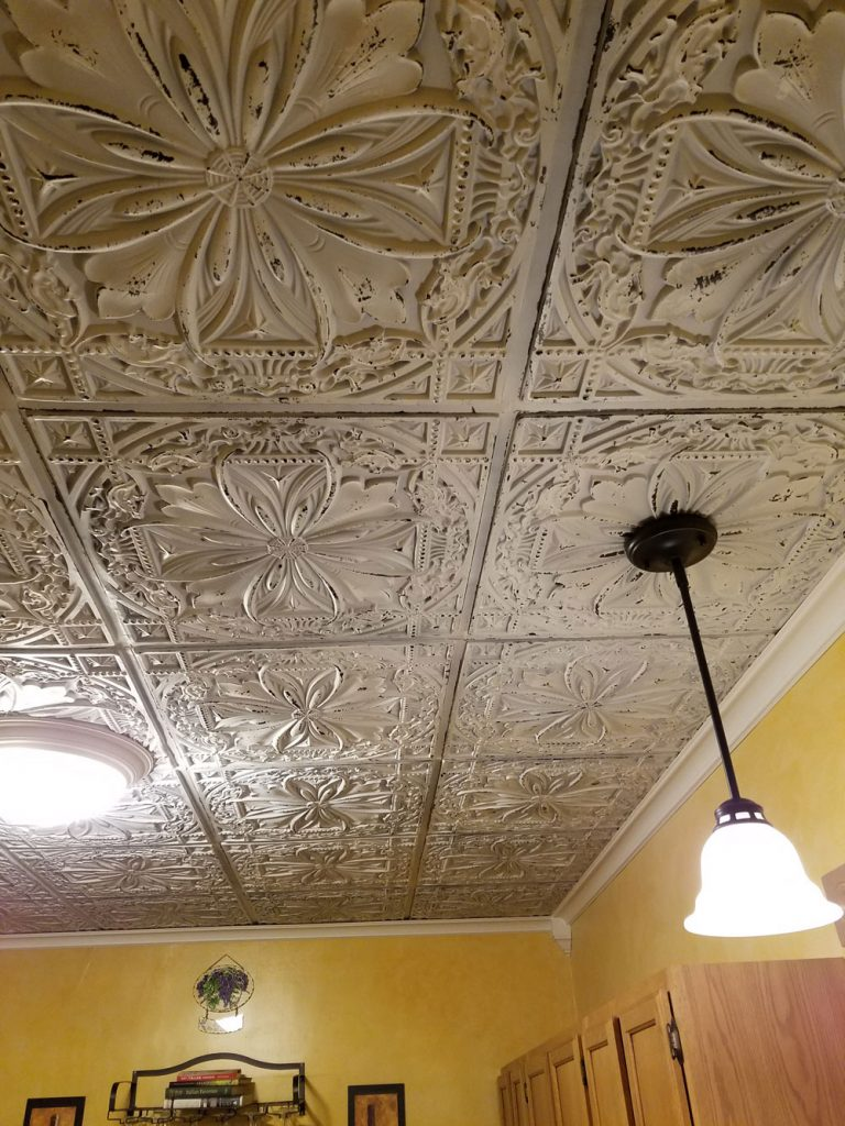 decor fine tile prints verdigris a street ceiling wallpaper tin