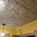 Faux Tin Ceiling Tile - 24 x 24 - #DCT 10 - Old Black White