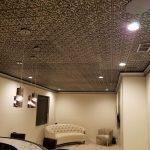 """Gothic Reims - Faux Tin Ceiling Tile - 24""""x24"""" - #150 - Antique Silver"""