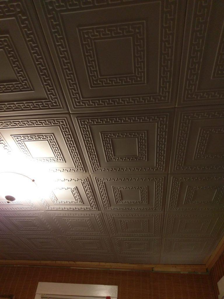 Styrofoam material tiles ideas photos decorativeceilingtiles greek key styrofoam ceiling tile 20x20 r 21 dailygadgetfo Choice Image