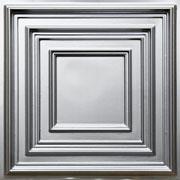 Schoolhouse - Faux Tin Ceiling Tile - #222 - Silver