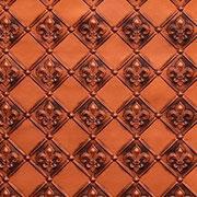 """Fleur de Lis - 3 """" Pattern - Faux Tin Backsplash Roll - #WC 80"""