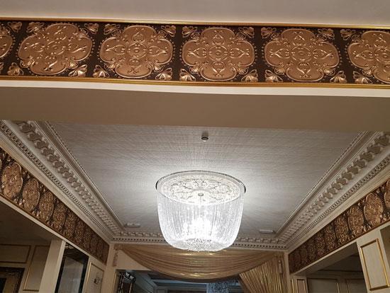 Alhambra – Faux Tin Ceiling Tile – 24″x24″ – #217