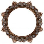 Bronzed Sun - FAD Hand Painted Ceiling Rings - #CCRF-001-2