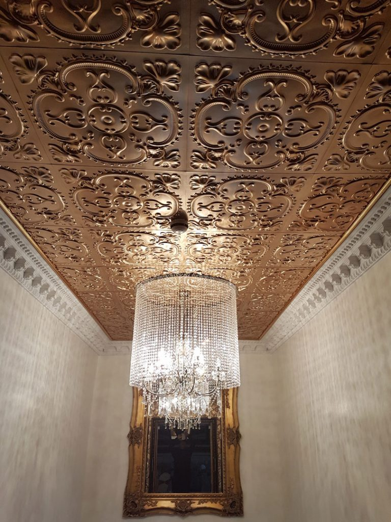 Gold Ceiling Tiles Ideas Photos Decorativeceilingtiles