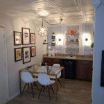 """Line Art - Styrofoam Ceiling Tile - 20""""x20"""" - #R 24 - Plain White"""