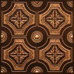 """Matrix - Faux Tin Ceiling Tile - Glue up - 24""""x24"""" - #227"""
