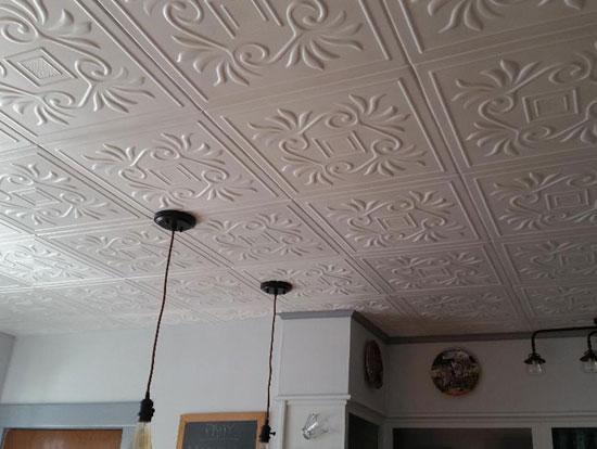 Styrofoam Ceiling Tile – 20″x20″ – #R159