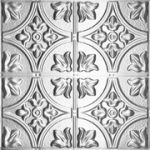 Queen Victoria - Tin Ceiling Tile - #1204 - Tin Plated Steel
