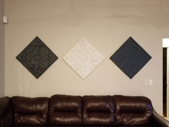 Renaissance Faire – Aluminum Ceiling Tile – 24″x24″ – #2428