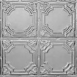 Stained Glass - Tin Ceiling Tile - #1207 - Tin Plated Steel