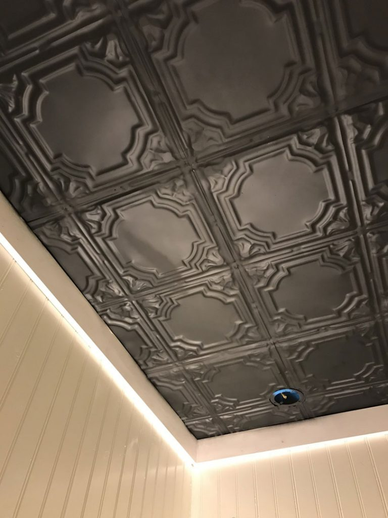 Bathroom ceiling tile ideas photos decorativeceilingtiles stained glass tin ceiling tile 1207 tin plated steel dailygadgetfo Image collections